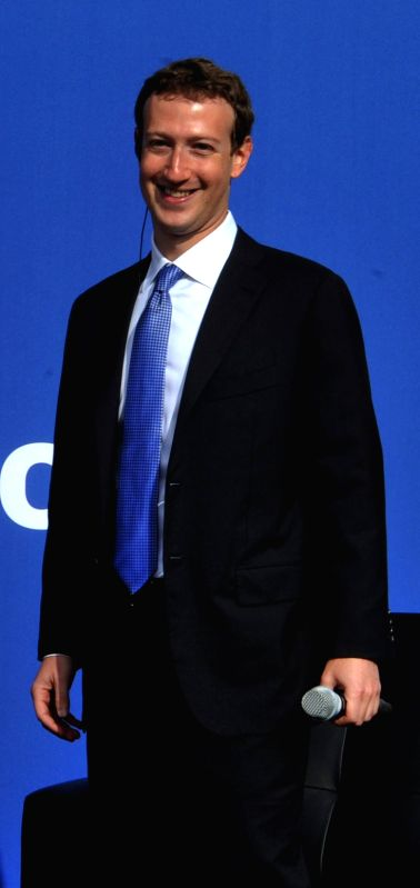 Facebook founder Mark Zuckerberg. (File Photo: IANS)