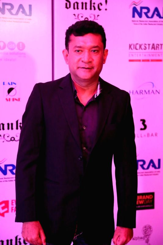 Filmmaker Ken Ghosh during the India Nightlife Convention Awards in Mumbai on Sept 26, 2016.