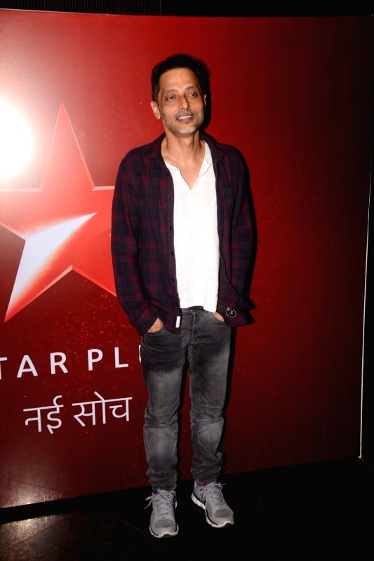 "Filmmaker Sujoy Ghosh at the launch of television show ""Teen Paheliyan"" in Mumbai on April 13, 2018 .(Image Source: IANS)"