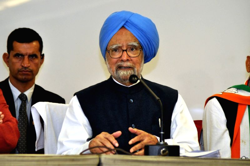 Former Prime Minister and Congress leader Manmohan Singh. (File Photo: IANS)