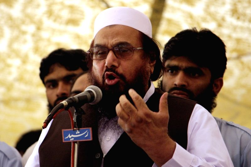 Hafiz Saeed. (Image Source: IANS)