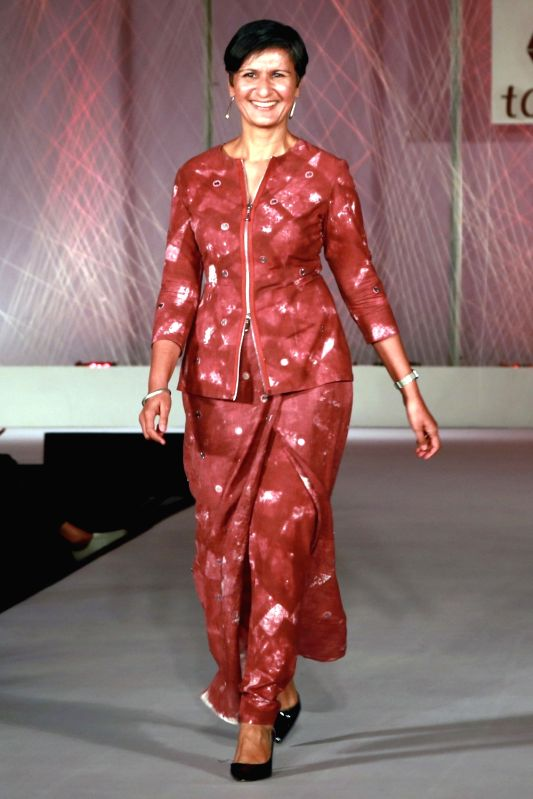 High Commissioner of Australia Harinder Sidhu during the designer Abraham and Thakore`s show at the `Tamana and FDCI hosted Khadi Fashion Show - Inclusion Beyond Boundaries`, in New Delhi ...