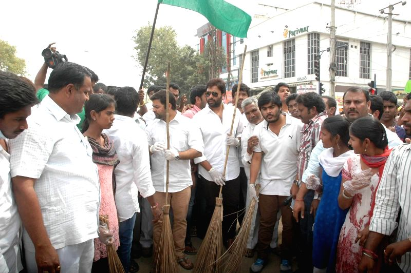 Nara rohith attended swatch bharath