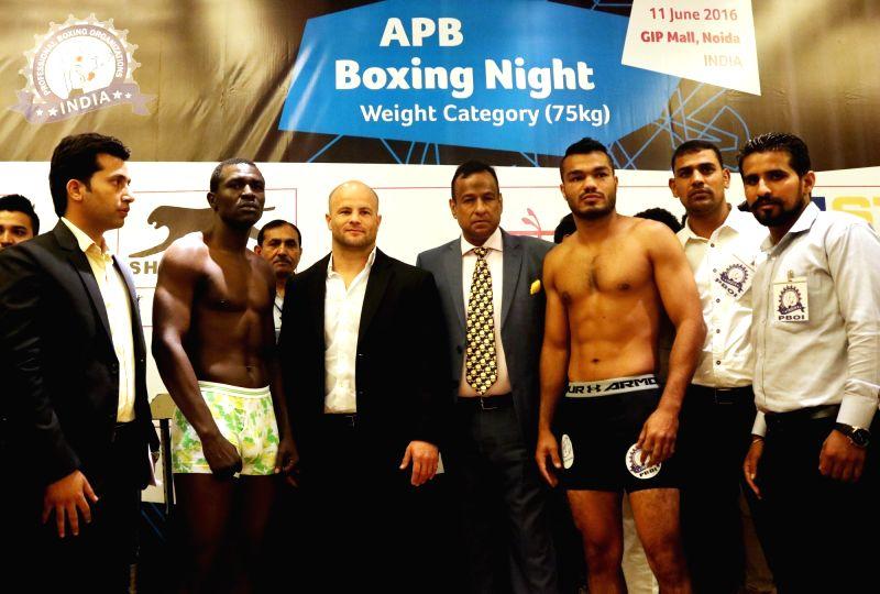 AIBA pro boxing night - press conference