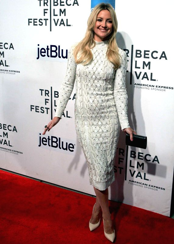 : Kate Hudson at US Premiere of their new movie The Reluctant Fundamentalist at the 2013 Tribeca Film Festival in New York on April 23, 2013. (Photo: IANS).