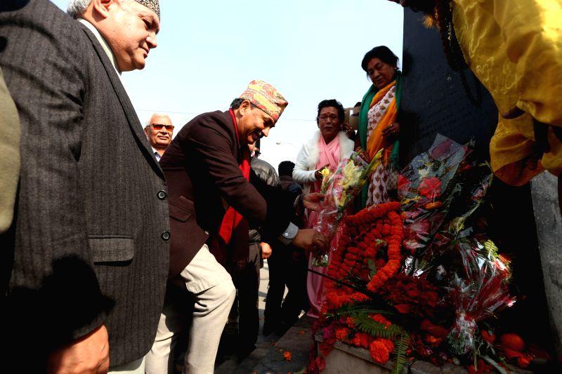 NEPAL-KATHMANDU-LATE KING-BIRTH ANNIVERSARY - Prithvi Narayan Shah