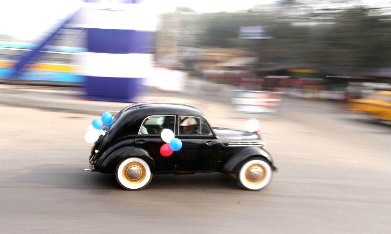 Vintage Car Rally  Kolkata