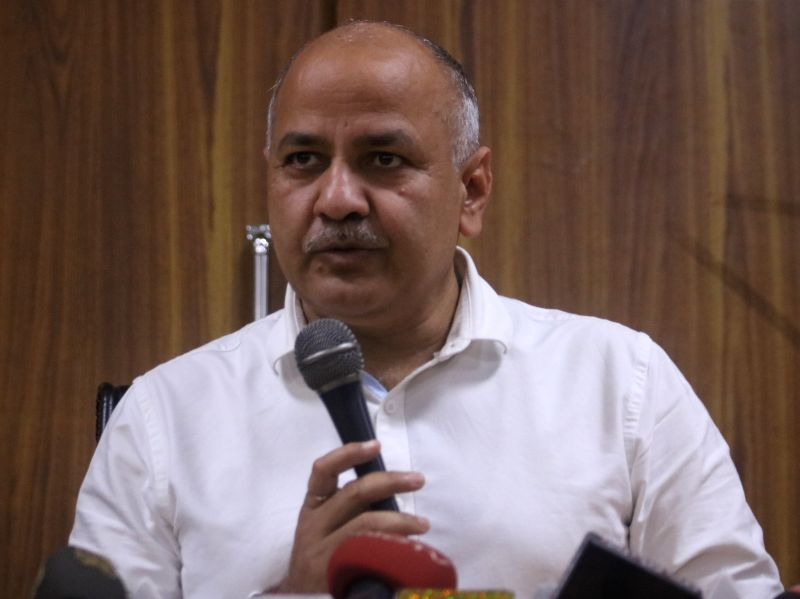 Manish Sisodia . (File Photo: IANS)(Photo:IANS)