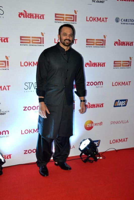 :Mumbai: Director Rohit Shetty at the red carpet of