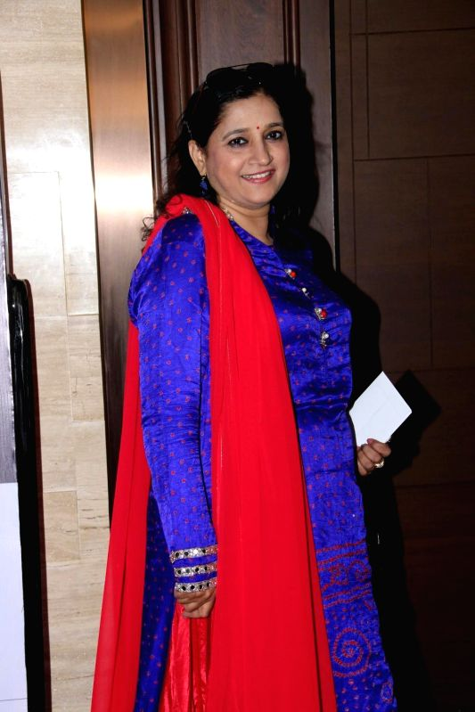 Singer Kavita Seth during the charity event, Be with Beti, to celebrate International Women`s Day, in Mumbai, on March 8, 2015.(Image Source: IANS)