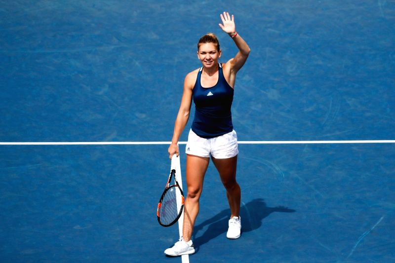Halep gets Hungarian fright before reaching last 16