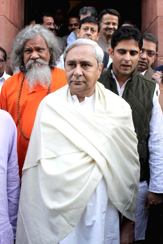 Odisha Chief Minister and BJD supremo Naveen Patnaik. (Image Source: IANS)