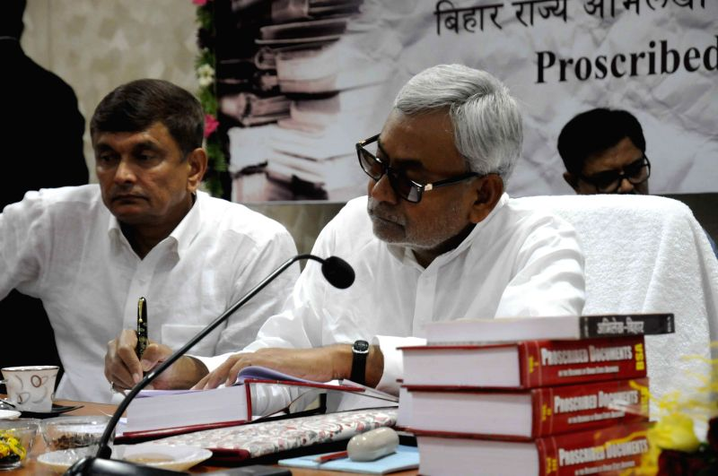 Nitish Kumar launches Proscribed Documents in the records ...