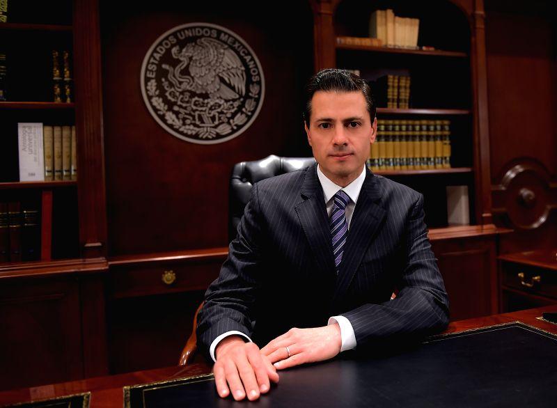 President of Mexico Enrique Pena Nieto. (File Photo: IANS)