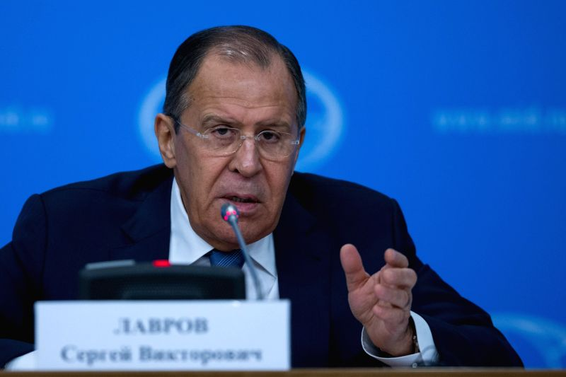 Russian Foreign Minister Sergey Lavrov. (File Photo: IANS)