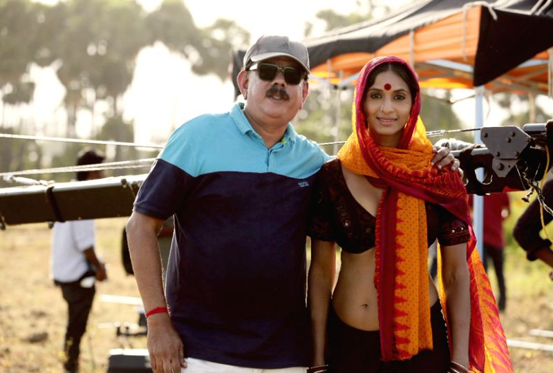 Sandhya Shetty with Priyadarshan