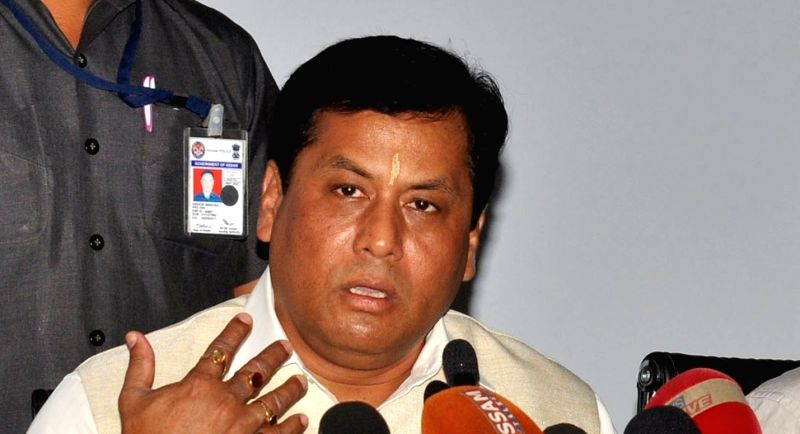 Sarbananda Sonowal. (Image Source: IANS)