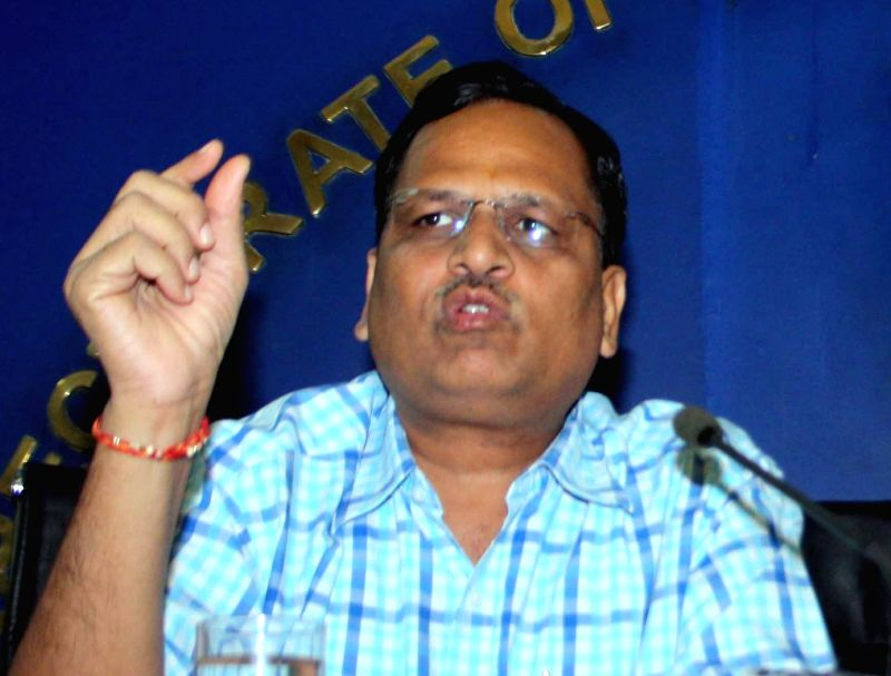 Satyendra Jain. (File Photo: IANS)