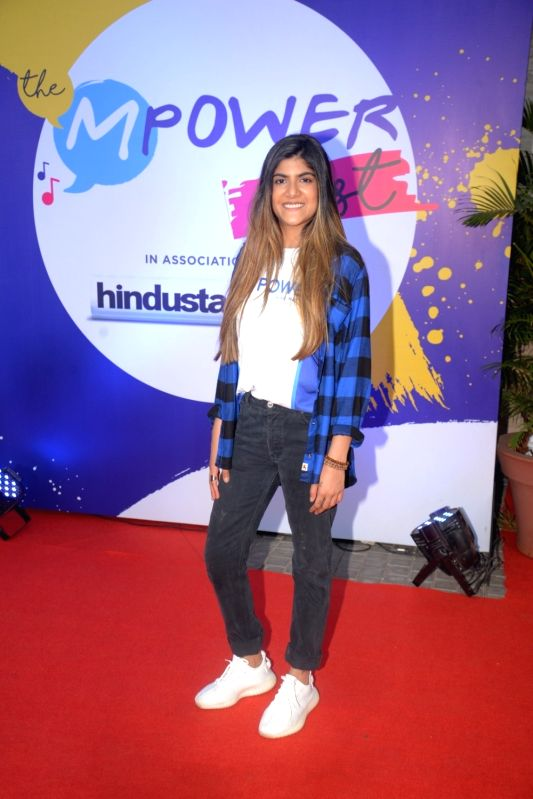 "Singer Ananya Birla during ""The Mpower Fest"" in Mumbai on Nov 11, 2018.(Image Source: IANS)"
