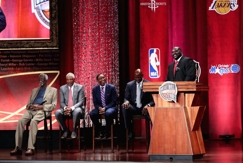 Shaquille O'Neal tells awesome Pat Riley story in NBA TV interview