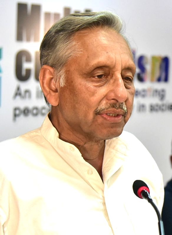 "Suspended Congress leader Mani Shankar Aiyar at the talk and discussion programme on ""Multiculuralism - An Instrument for Creating Peace and Harmony in Society"" in Bengaluru on ...(Image Source: IANS)"