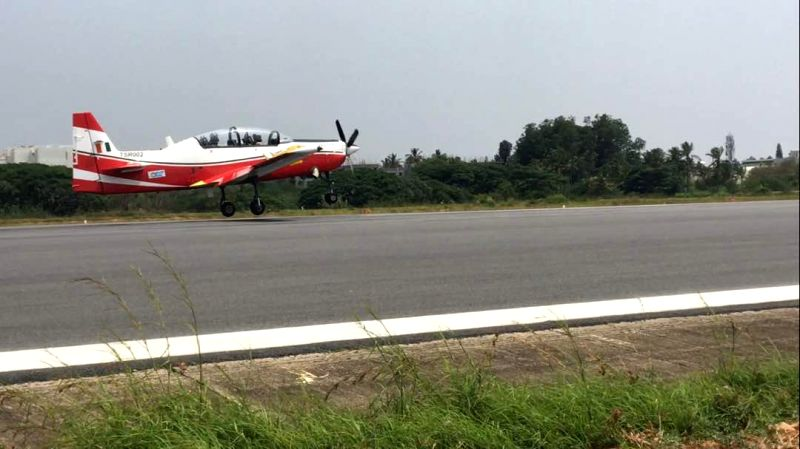 HAL basic trainer's second prototype makes maiden flight