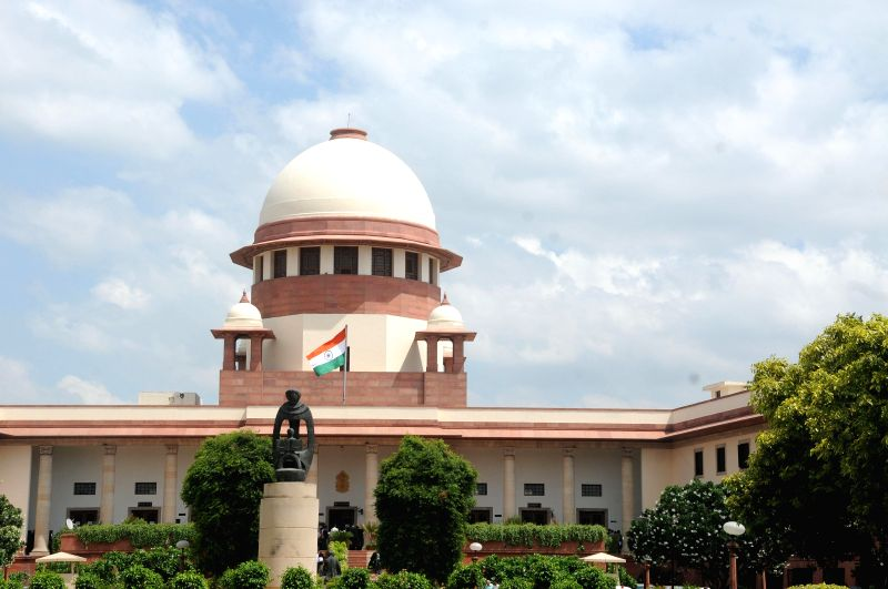 The Supreme Court of India. (Image Source: IANS)