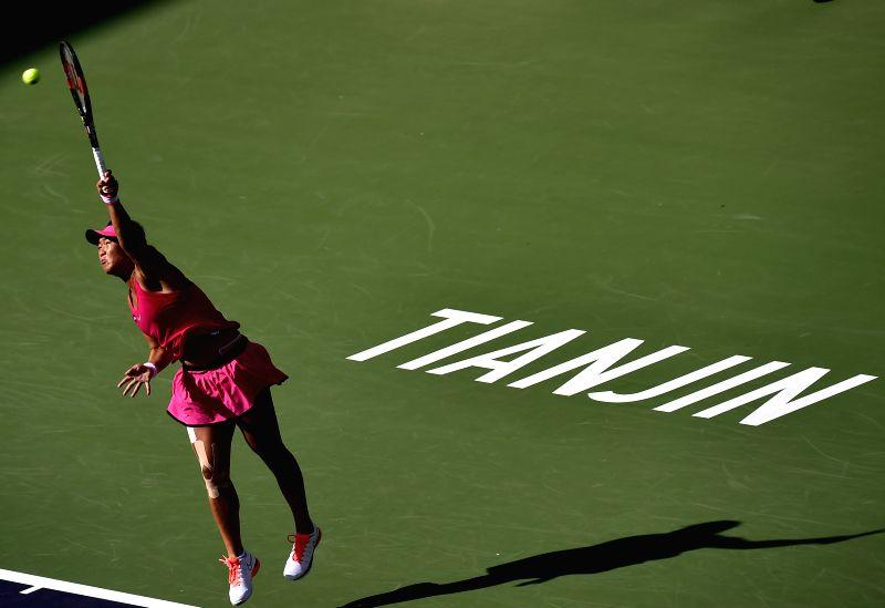 Peng and Riske to meet in Tianjin final