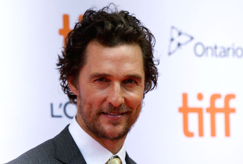 "TORONTO, Sept. 12, 2016 - Actor Matthew McConaughey attends the world premiere of the film ""Sing"" at Princess of Wales Theatre during the 41st Toronto International Film Festival in ..."