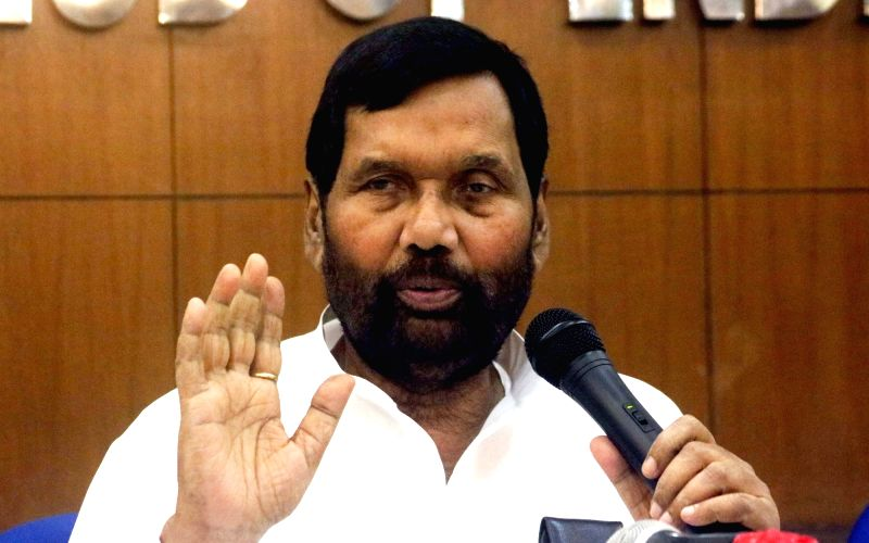 Union Consumer Affairs Minister Ram Vilas Paswan.(Photo:IANS)