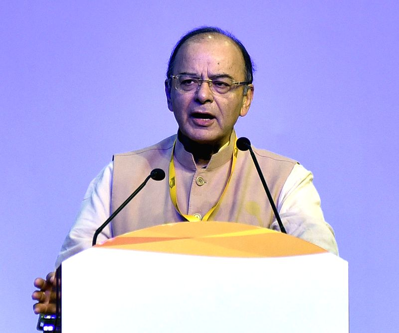 Jaitley addresses at Vibrant Gujarat Global Summit 2017 - Arun Jaitley