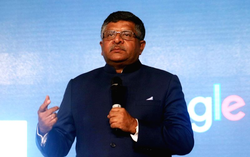 Union Minister for Law and Justice Ravi Shankar Prasad.(File Photo: IANS)