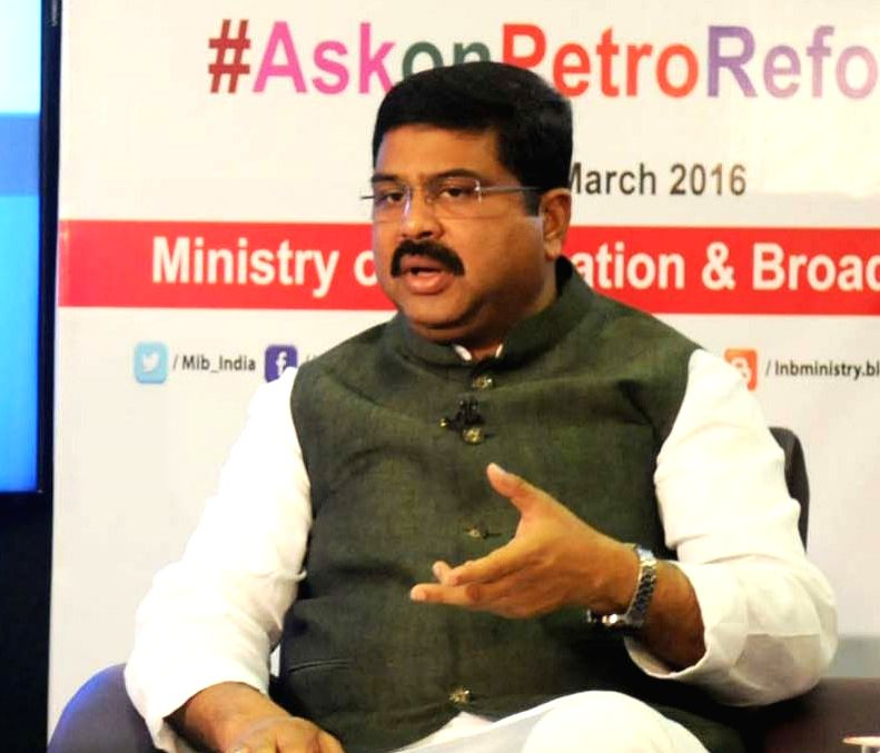 Union Minister of State for Petroleum and Natural Gas and BJP leader Dharmendra Pradhan. (Image Source: IANS)