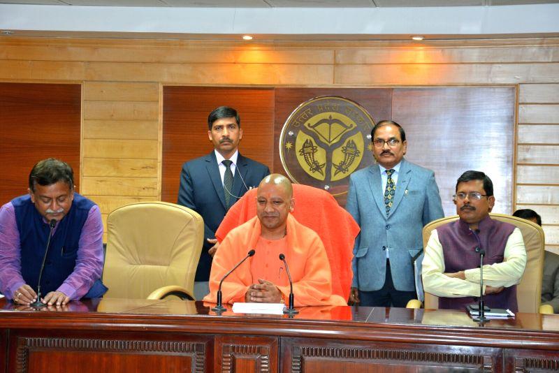 Yogi Adityanath's press conference
