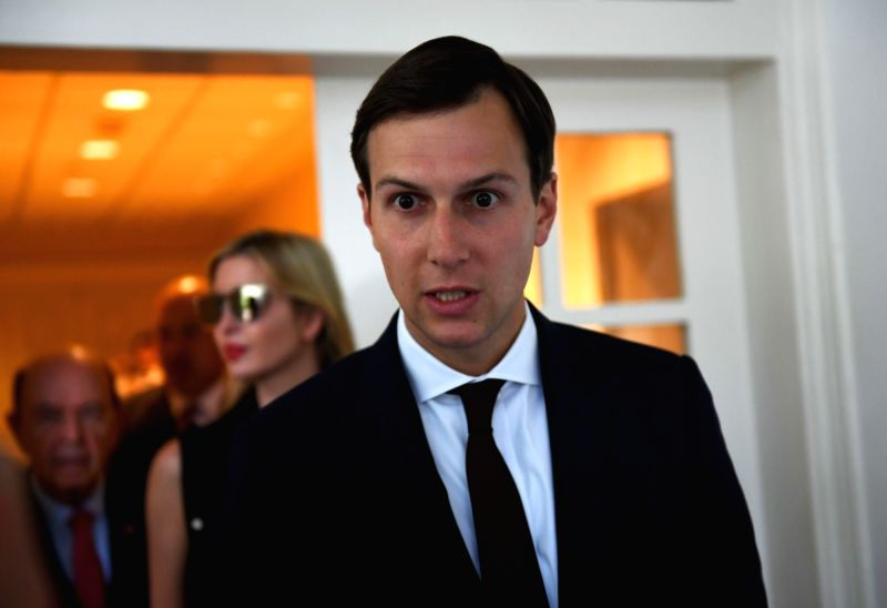 WASHINGTON, June 27, 2017 - Senior advisor to the President Jared Kushner arrives for the joint statements of Indian Prime Minister Narendra Modi and U.S. President Donald Trump (both not in the ...
