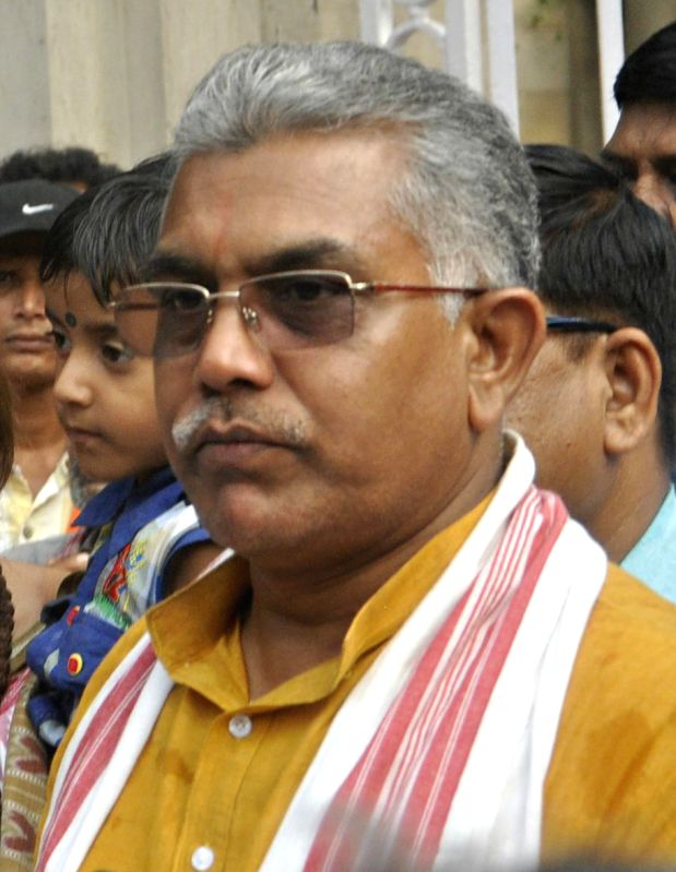 West Bengal BJP president Dilip Ghosh. (File Photo: IANS)