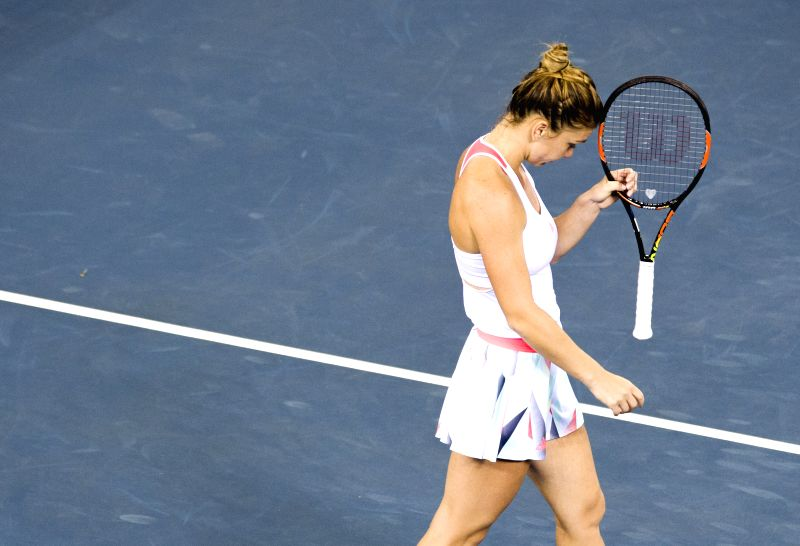 Kvitova ends title drought with Wuhan win