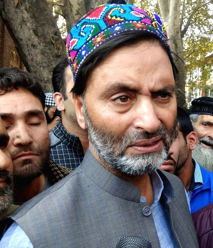 Yasin Malik. (Image Source: IANS)