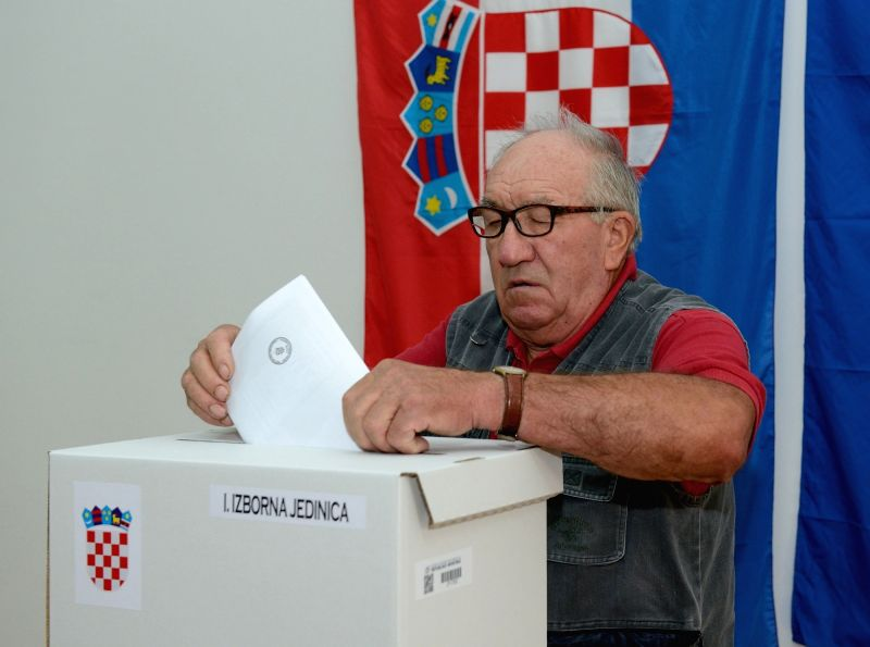 Exit polls from Croatian elections give narrow lead to Social Democrats