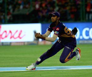 Catch Drop by Washington Sundar