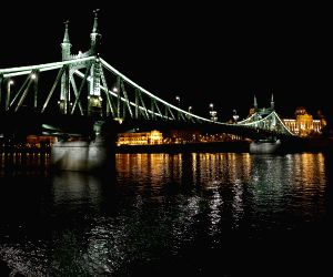 HUNGARY-BUDAPEST-NIGHT VIEW