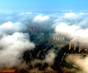 CHINA-GUANGXI-NANNING-HEAVY FOG