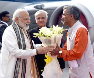 : Uttarakhand : Modi visits Uttarakhand