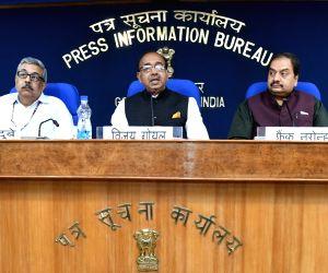 : New Delhi: Vijay Goel's press conference