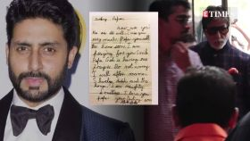 Abhishek Bachchan's letter to 'darling papa' Amitabh Bachchan is the cutest thing on the internet today!