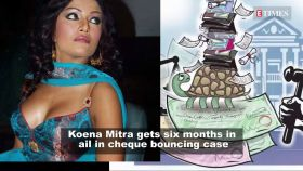 Actress Koena Mitra gets six months in prison in cheque bouncing case