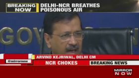 Air quality expected to improve: Delhi CM Arvind Kejriwal