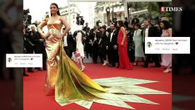 Aishwarya Rai Bachchan trolled for taking daughter Aaradhya Bachchan at Cannes