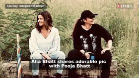 Alia Bhatt is enjoying priceless moments with big sister Pooja Bhatt, shares picture from sets of 'Sadak 2'