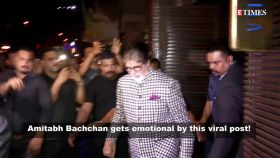 Amitabh Bachchan left in 'tears' after watching this viral post!